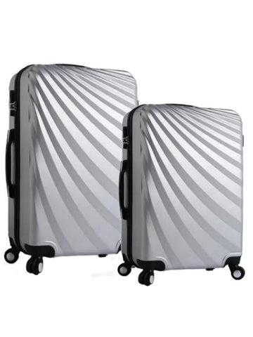 "20""/24"" Streamer Travel Luggage [Silver] - VixenQue - 1"