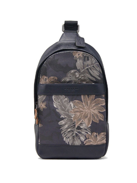 Coach Men Campus Pack 72307 in Printed Canvas (Hawaiian Palm) - VixenQue - 1