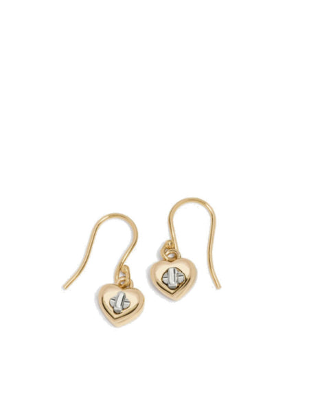 Coach 54489 Turnlock Heart Wire Earring - Gold - VixenQue