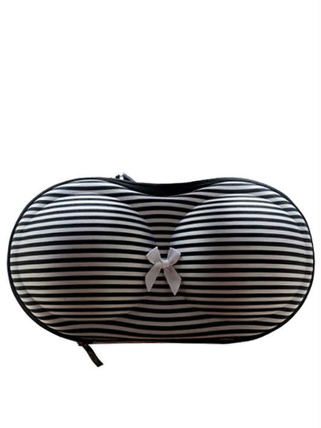 Fashionable Zebra Stripes Bra Organizer - VixenQue - 1