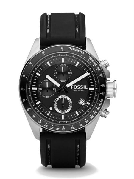 FOSSIL CH2573 Men's Decker Chronograph Watch - Black
