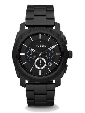 FOSSIL FS4552 Machine Chronograph Stainless Steel Watch - Black