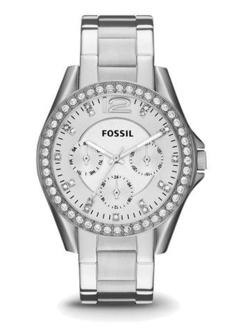 FOSSIL ES3202 Riley Multifunction Stainless Steel Watch