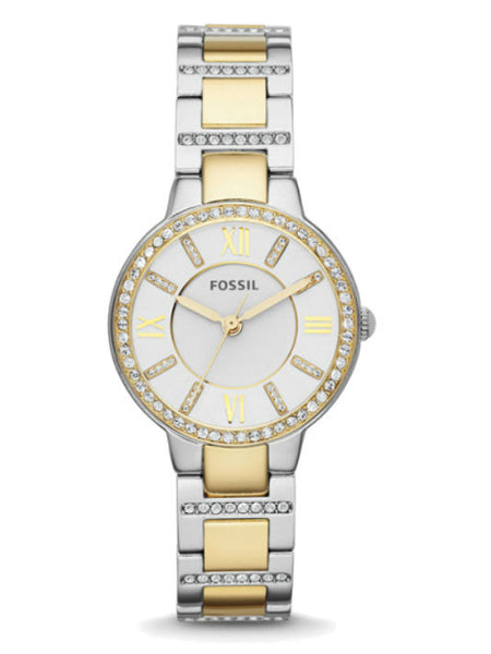 FOSSIL ES3503 Virginia Two-Tone Stainless Steel Watch