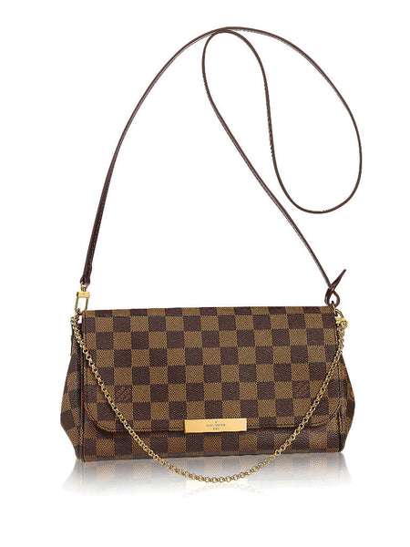 Louis Vuitton Favorite MM Damier Ebene - VixenQue