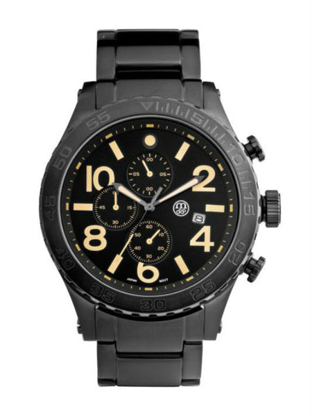 MASSA Firmation 01 Men's Watch - Black - VixenQue - 1
