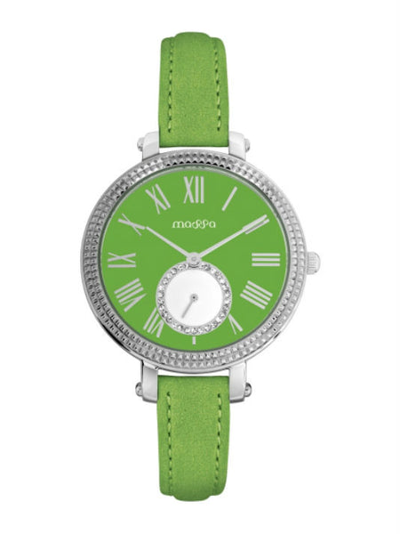 MASSA Joyy 05 Women Watch - Green - VixenQue - 1