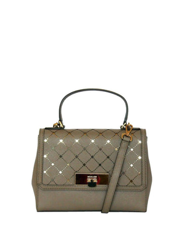Michael Kors 35F6GPFM1L Jamey Small Messenger - Dark Taupe