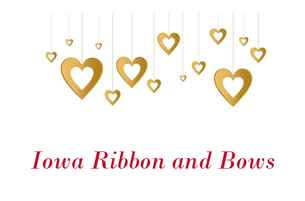 Iowa Ribbon and Bows 3 Inch Grosgrain Ribbon