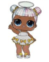 Angel LOL Doll Resin
