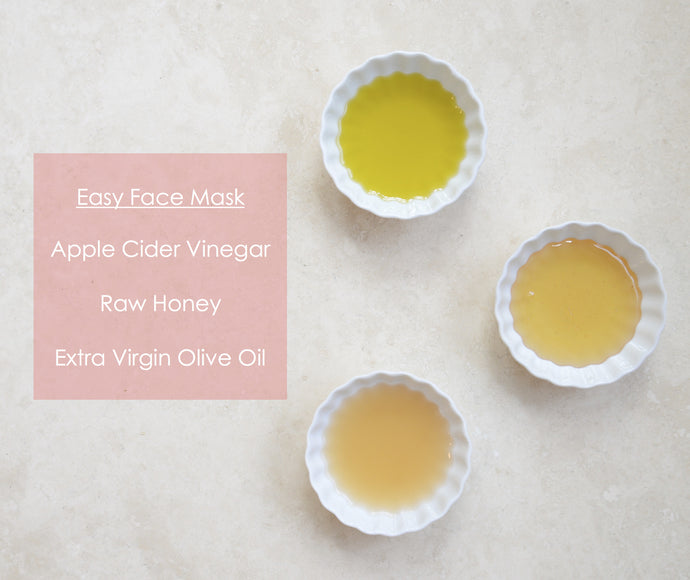 Simple DIY Raw Honey & Apple Cider Vinegar Mask