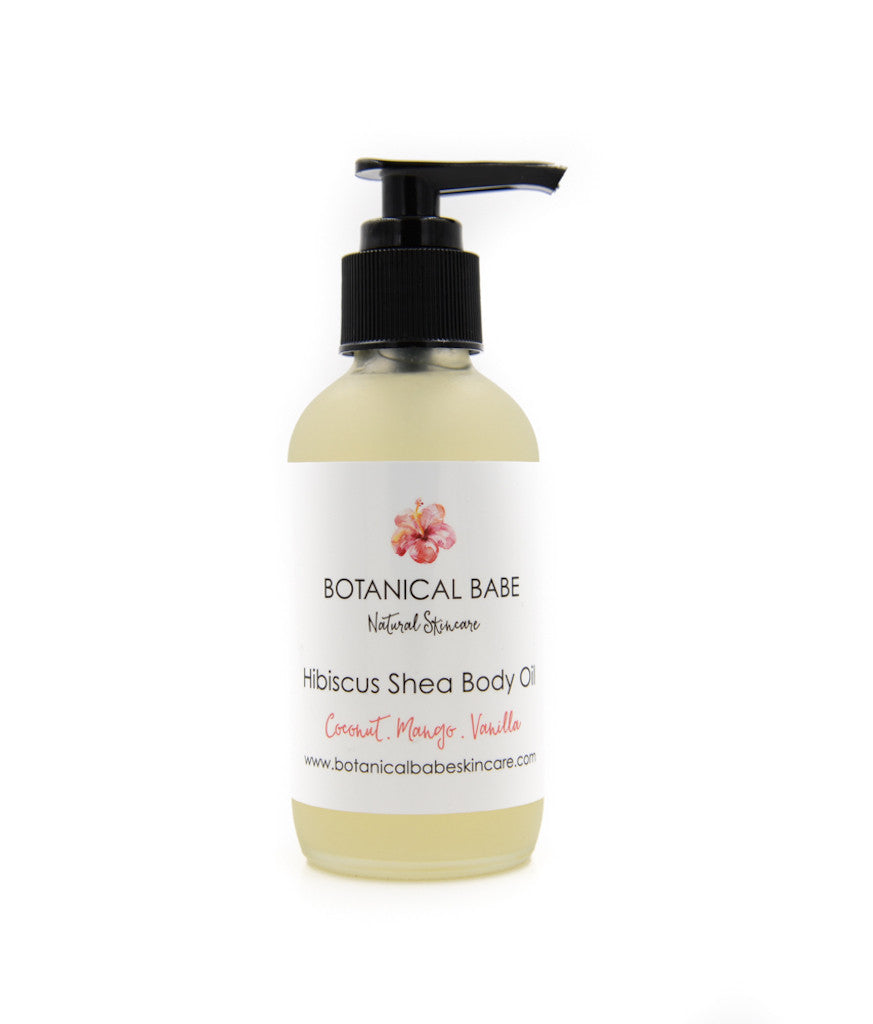 Hibiscus Shea Body Oil