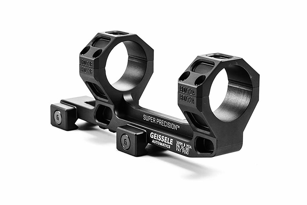 Super Precision - AR15 / M4 Scope Mounts Black