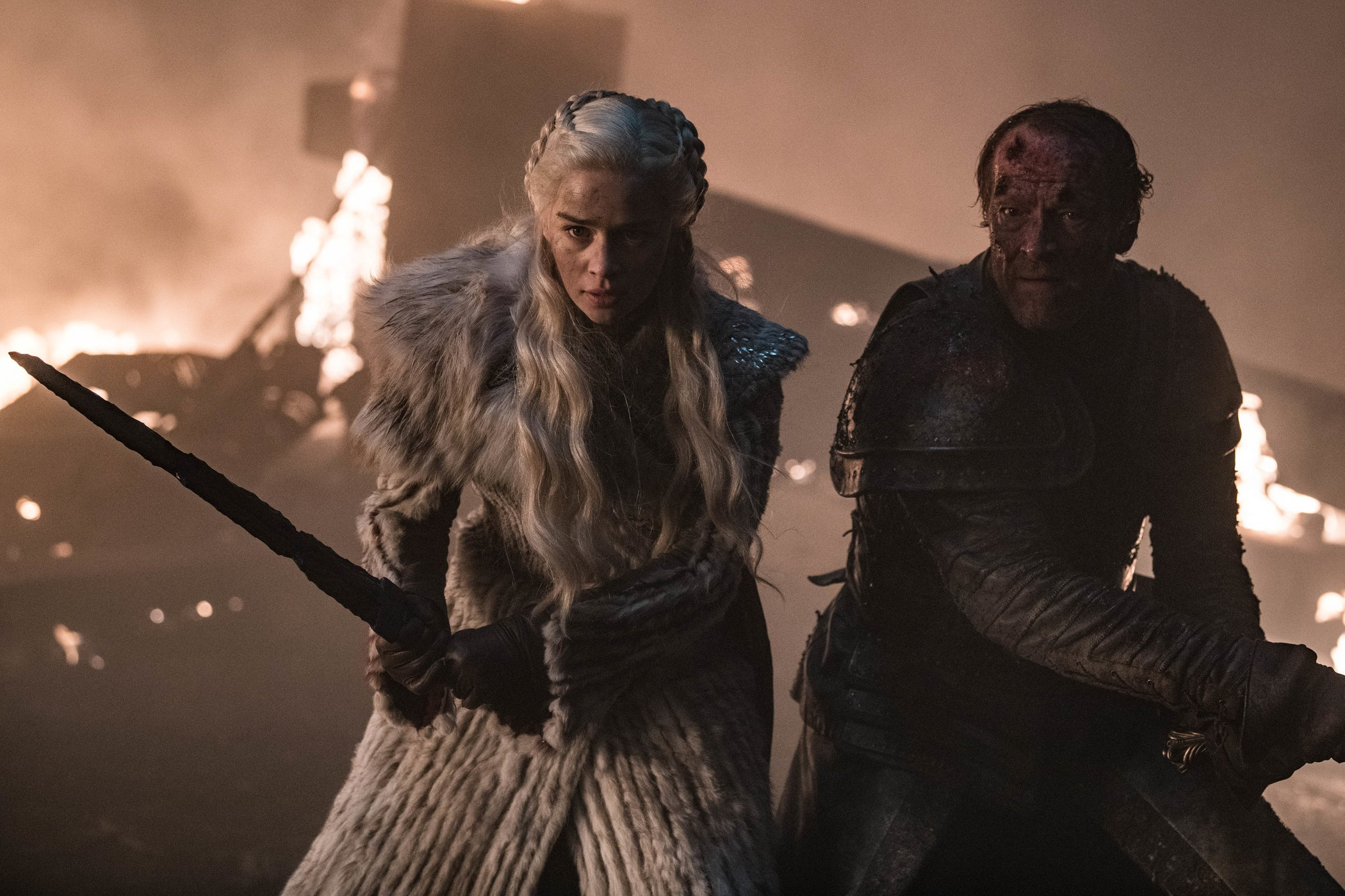 Game Of Thrones Season 8 episode 3 Jorah Mormont Daenerys Targaryen