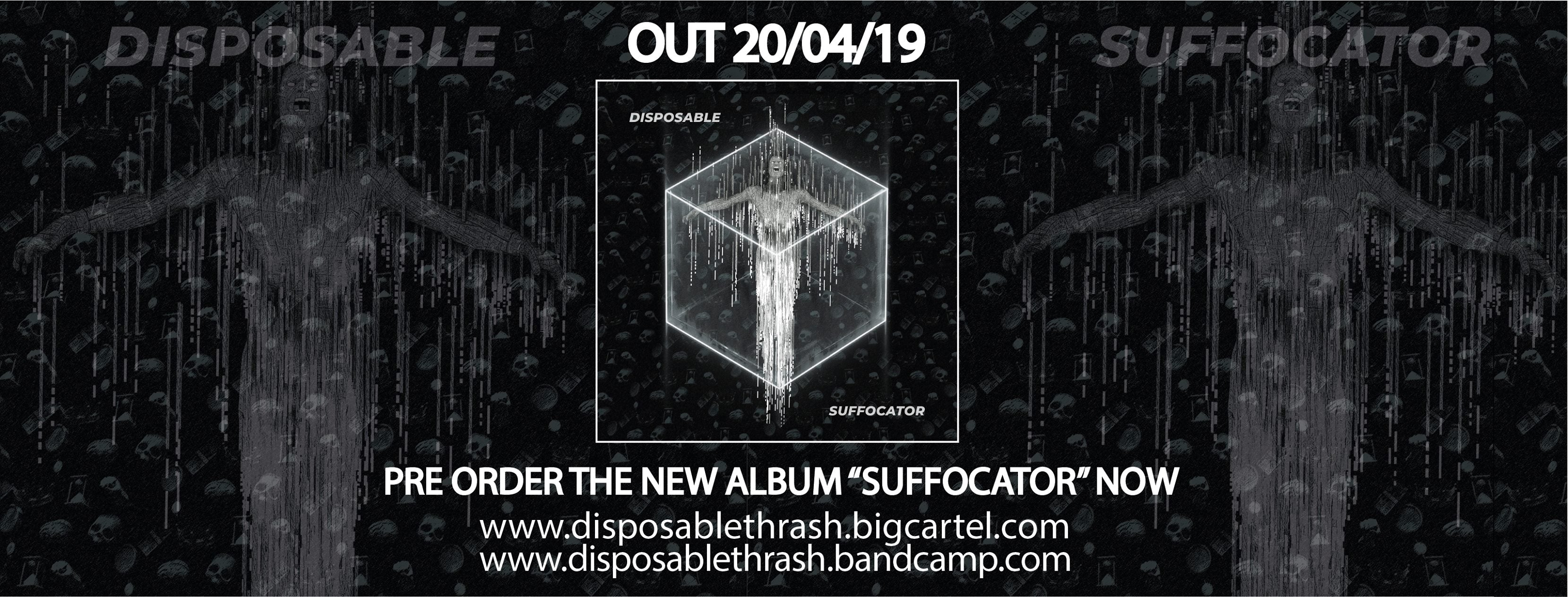 Disposable Suffocator band UK heavy metal