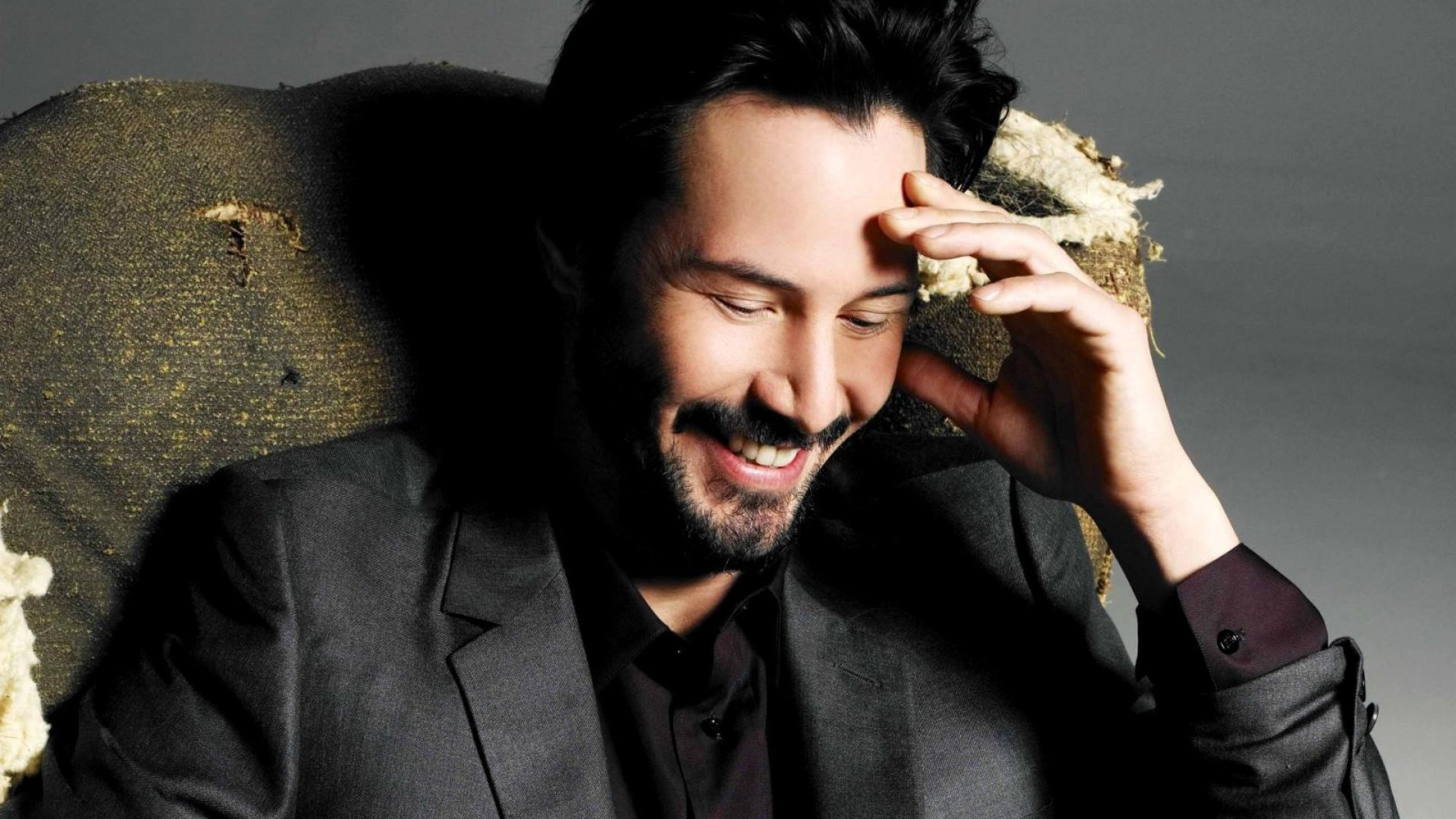 Keanu Reeves Happy Nice Guy