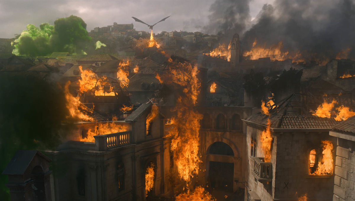game of thrones season 8 episode 5 kings landing dragon fire wildfire