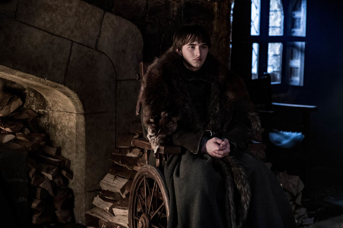 game of thrones season 8 episode 4 Bran Stark The Three Eyed Raven