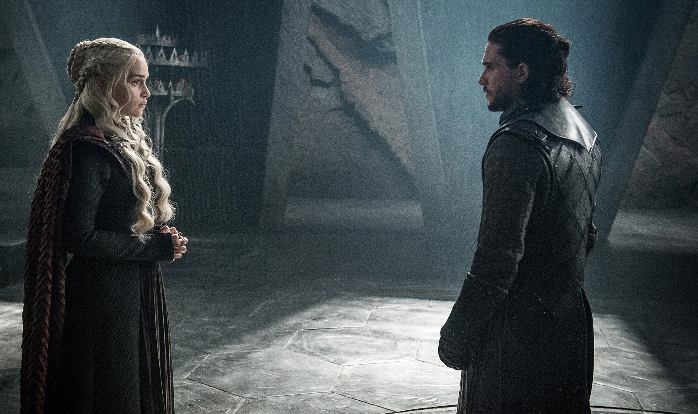 game of thrones season 8 episode 5 Jon Snow Aegon Targaryen Daenerys Targaryen