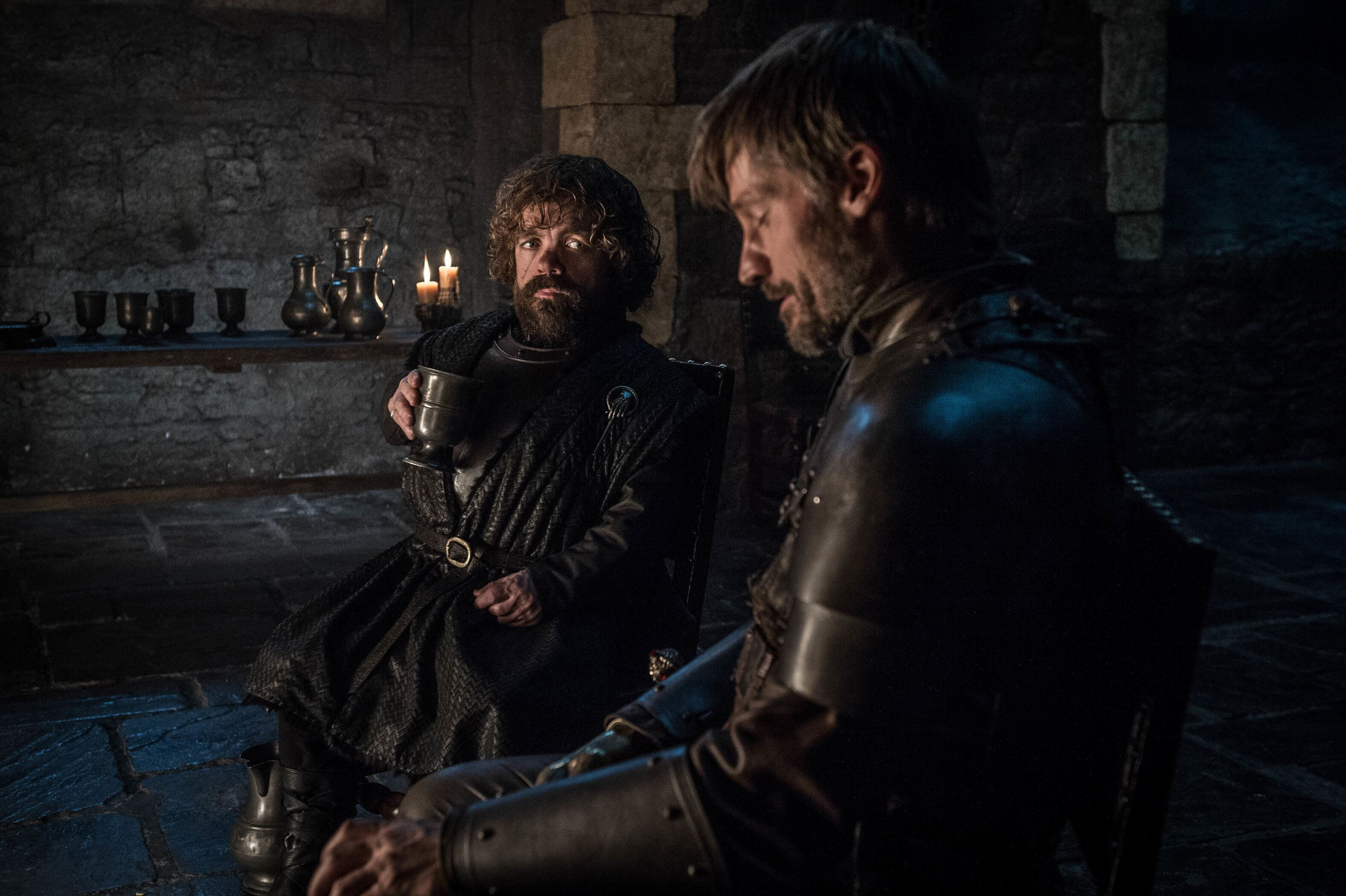 Game Of Thrones Season 8 Episode 2 Jaime and Tyrion Lannister