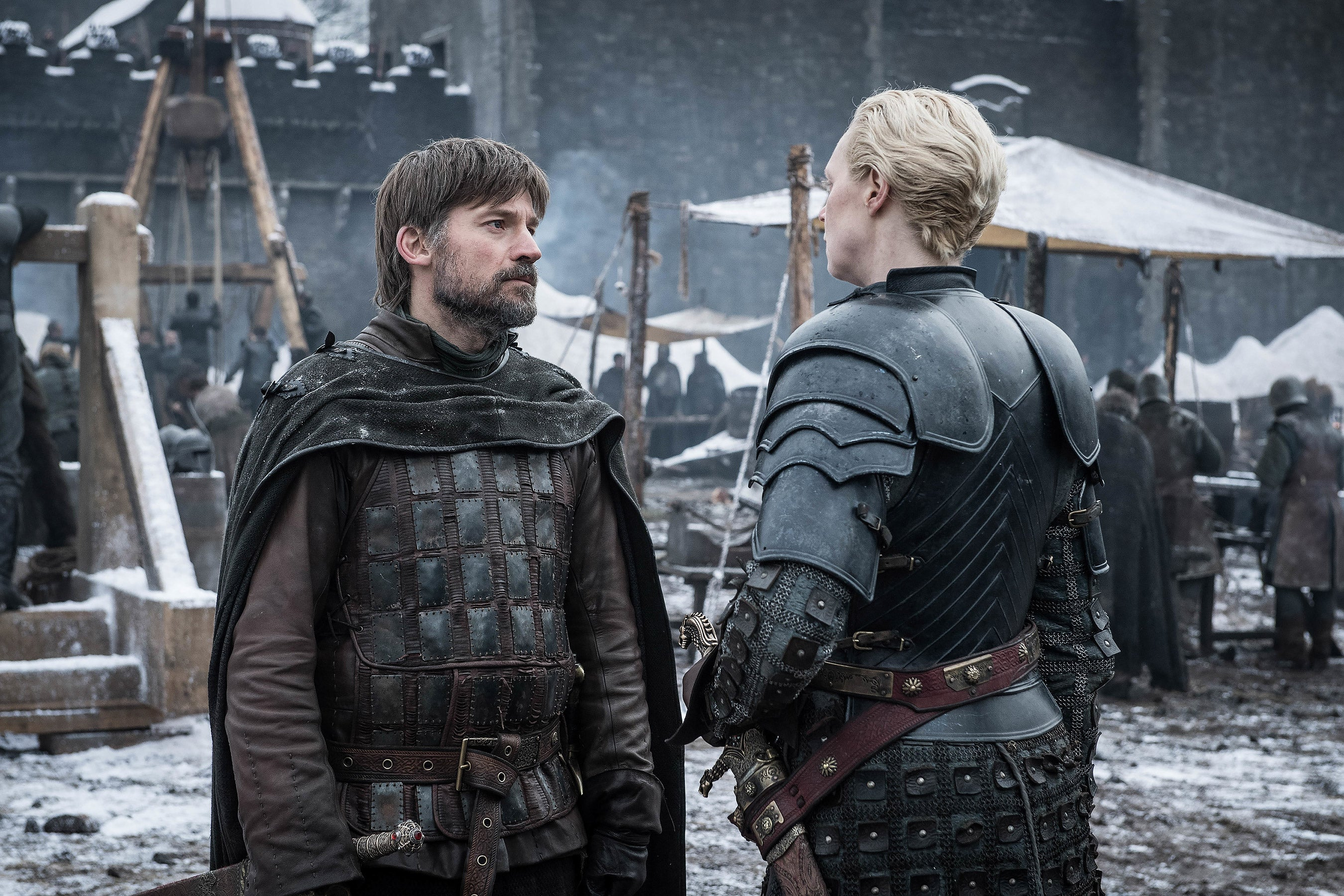 game of thrones season 8 episode 4 Jaime Lannister Brienne Of Tarth