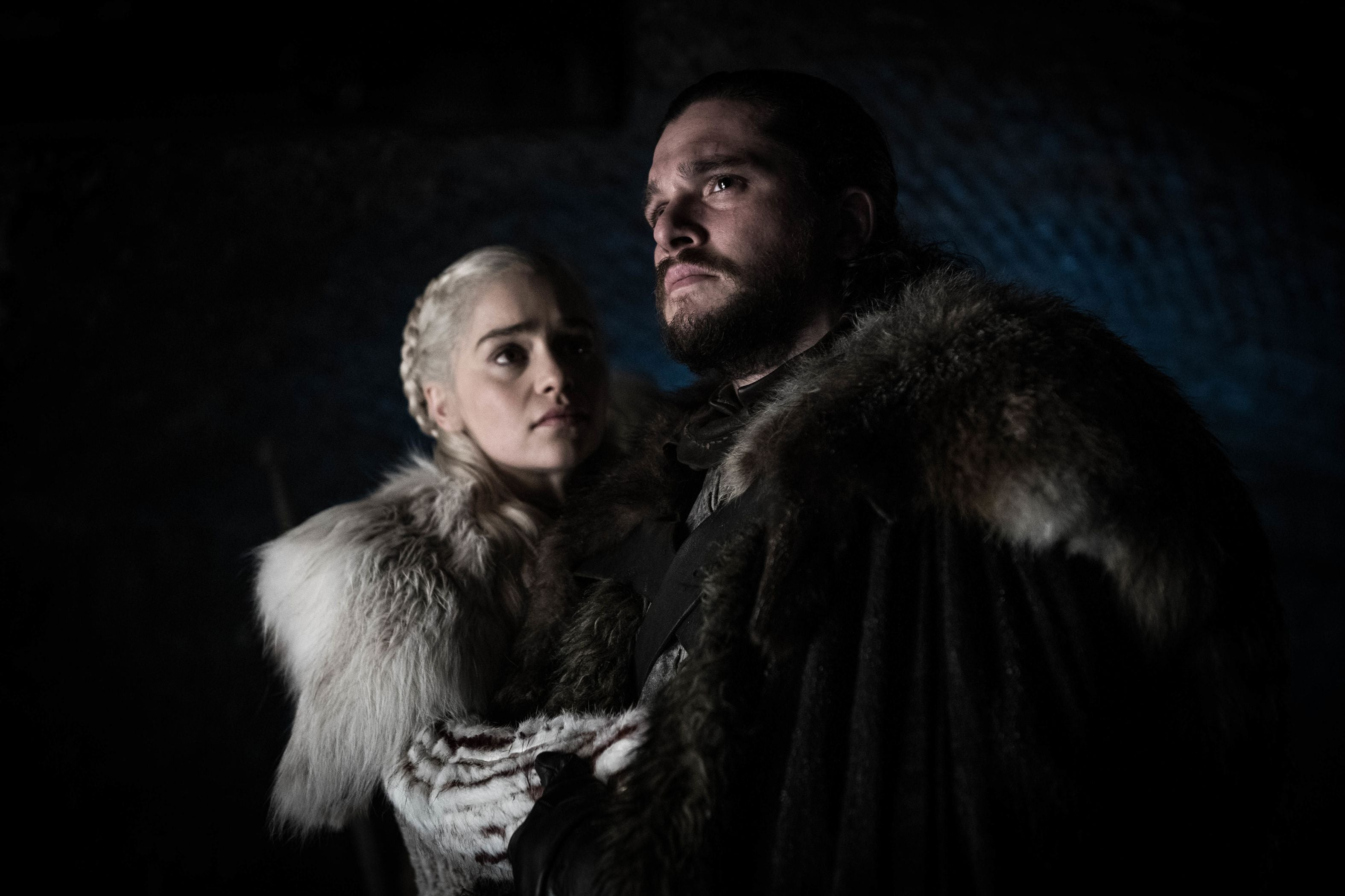 Game Of Thrones Season 8 Episode 2 Jon Snow Aegon Targaryen Daenerys Targaryen