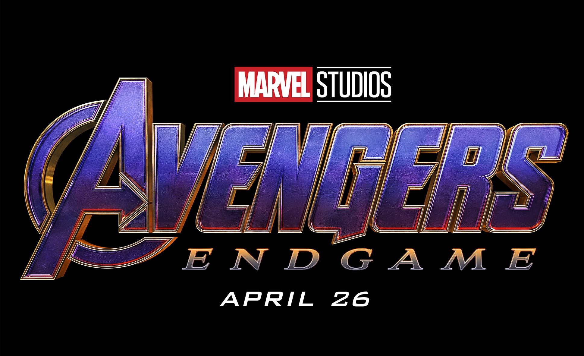 Avengers Endgame cinema release date April 26