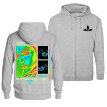 Load image into Gallery viewer, Agenda 2030 - Zip Hoodie (Front & Back Print)