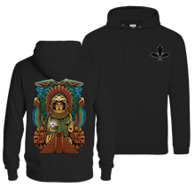 Load image into Gallery viewer, Ancient Astronaut Quetzalcoatl  - Pull Over Hoodie (Front & Back Print)