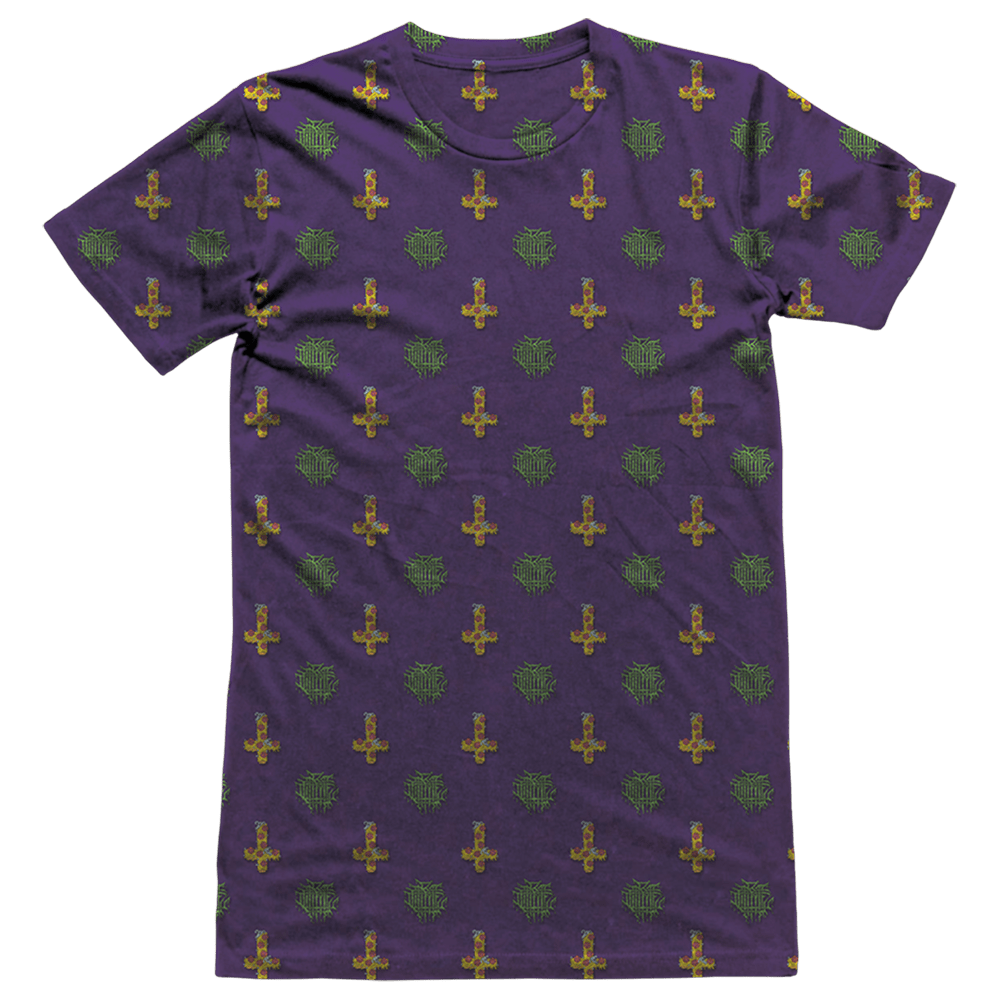 Anti Crust All-Over - Sublimation Tee (purple)