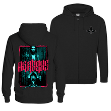 Load image into Gallery viewer, As Above, So Below - Zip Hoodie (Front & Back Print)