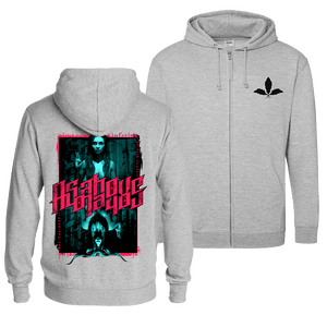 As Above, So Below - Zip Hoodie (Front & Back Print)