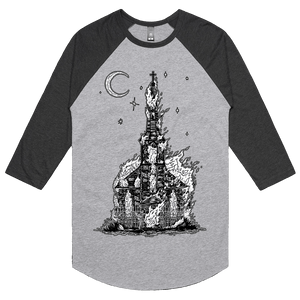 Ashes To Ashes - 3/4 Sleeve Raglan