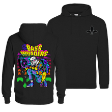Load image into Gallery viewer, Bass Invaders - Pull Over Hoodie (Front & Back Print)
