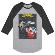 Load image into Gallery viewer, Bat Ren & Super Stimpy - 3/4 Sleeve Raglan