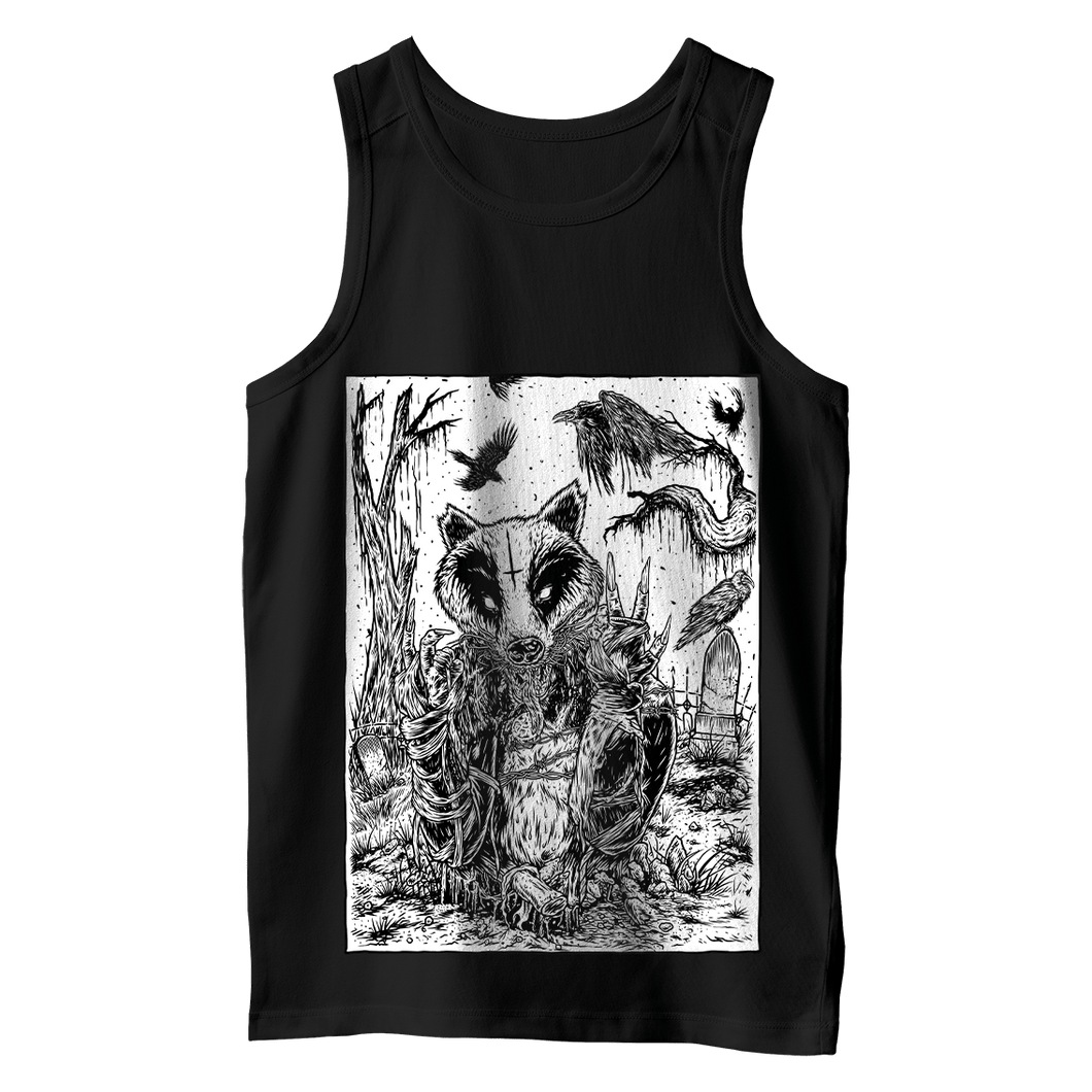 Black Metal Badger - Vest