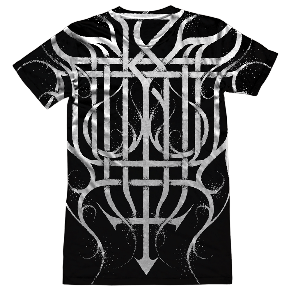 Black Metal Monogram All-Over - Sublimation Tee