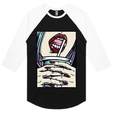Load image into Gallery viewer, Cherry Pop - 3/4 Sleeve Raglan