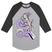 Load image into Gallery viewer, Chrome & Cobras - 3/4 Sleeve Raglan