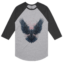 Load image into Gallery viewer, Crowthulu - 3/4 Sleeve Raglan