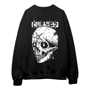 Cursed (White Print) - Sweatshirt
