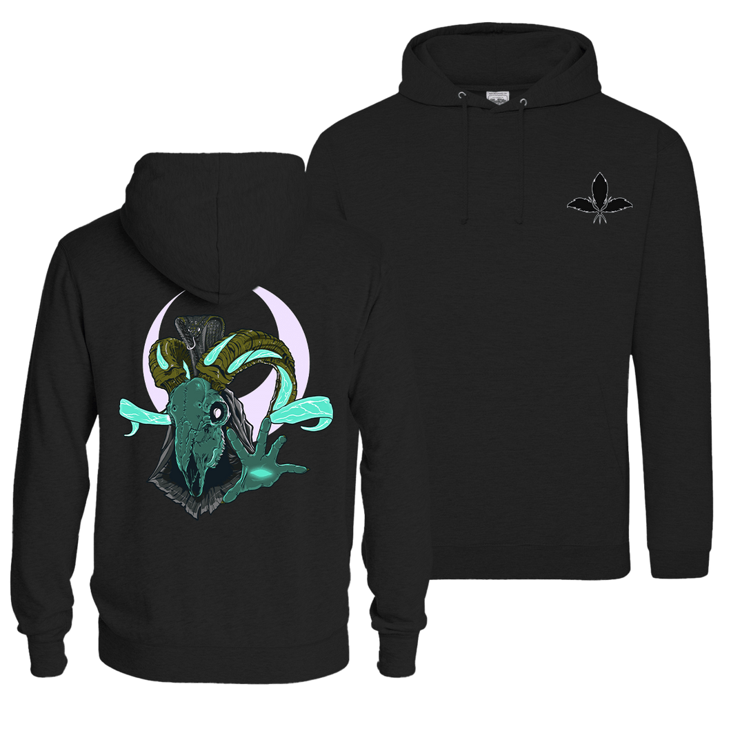 Darkwave Amun-Ra - Pull Over Hoodie (Front & Back Print)