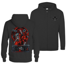 Load image into Gallery viewer, Dead by Dawn - Zip Hoodie