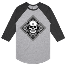 Load image into Gallery viewer, Death Mandala - 3/4 Sleeve Raglan
