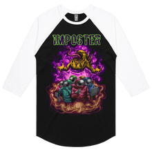 Load image into Gallery viewer, Imposter - 3/4 Sleeve Raglan