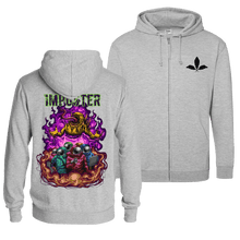 Load image into Gallery viewer, Imposter - Zip Hoodie (Front & Back Print)