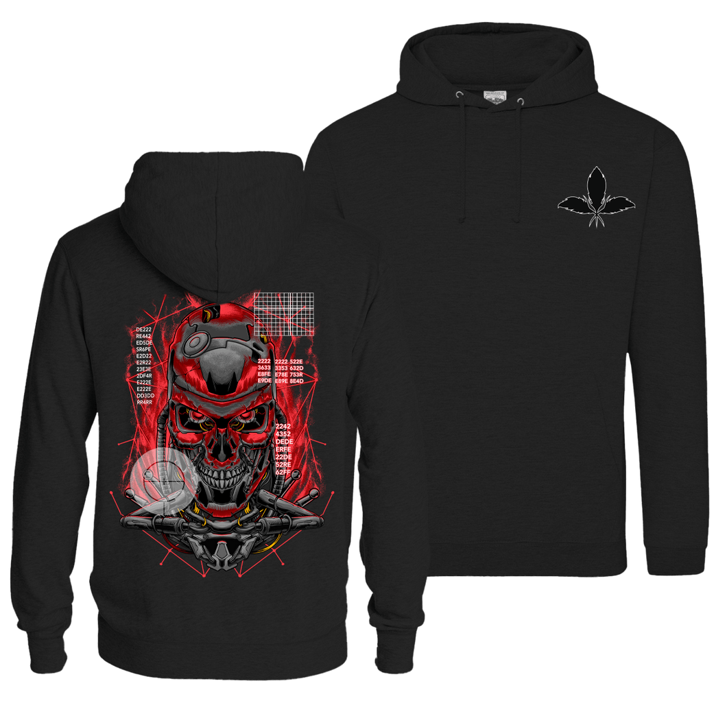 Judgment Day - Pull Over Hoodie (Front & Back Print)