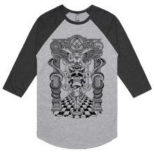 Load image into Gallery viewer, Kabbalah (Black Print) - 3/4 Sleeve Raglan