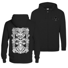 Load image into Gallery viewer, Kabbalah (White Print) - Zip Hoodie (Front & Back Print)