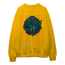 Load image into Gallery viewer, Lion Medusa Glitch Lined - Sweatshirt